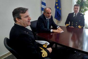 Επίσκεψη αντιπροσωπείας της Αντιναρκικής Μόνιμης Δύναμης του ΝΑΤΟ στον Περιφερειάρχη