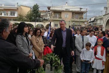 Κατάθεση στεφάνων από τον ΑΣΕΕΔ σε Αγρίνιο και Παναιτώλιο για την 25η Μαρτίου
