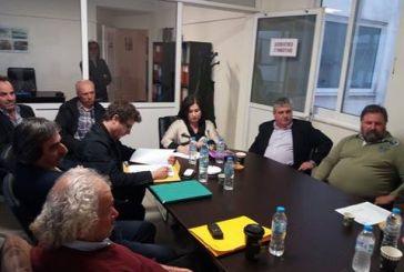 Σύσκεψη στον ΓΟΕΒ Αχελώου για τα προβλήματα του αρδευτικού δικτύου