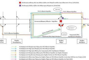 Ολυμπία Οδός: Ολιγοήμερος αποκλεισμός των κλάδων του Κόμβου Πάχης και της κάθετης οδού