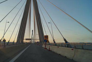Τροχαίο με τραυματισμό δικυκλιστή στη Γέφυρα Ρίου-Αντιρρίου