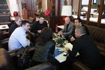 Συνάντηση του Αντιπεριφερειάρχη Κ. Μητρόπουλου με ρουμανική αντιπροσωπεία για αγροτικά θέματα