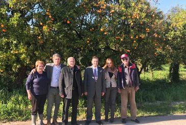 Επίσκεψη του Προέδρου του Ελληνοβουλγάρικου Επιμελητηρίου στο Θέρμο