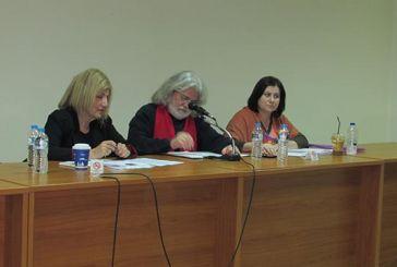 Για εξωτερική πολιτική σε Βαλκάνια και ελληνοτουρκικά μίλησε η Σία Αναγνωστοπούλου στο Μεσολόγγι