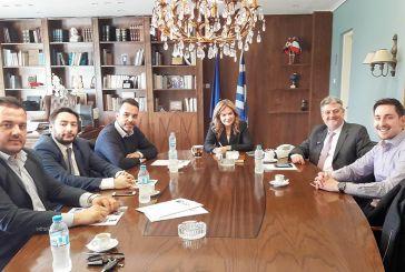 Συνάντηση του Συνδέσμου  Αιτωλοακαρνάνων Επιχειρηματιών με τη Σταρακά για το 5ο Συμπόσιο Marketing