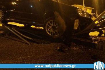 Τροχαίο ατύχημα στα Χάνια Γαβρολίμνης