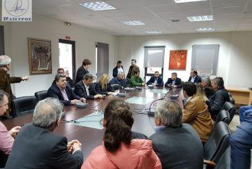 Συνάντηση Δημάρχων στο Χαλκιόπουλο για την ανάπτυξη της Νότιας Πίνδου και τη σύνδεση με Ιόνια Οδό