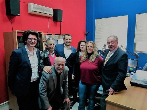 Τον Ραδιοφωνικό Σταθμό Μεσολογγίου επισκέφθηκε ο Νίκος Παππάς