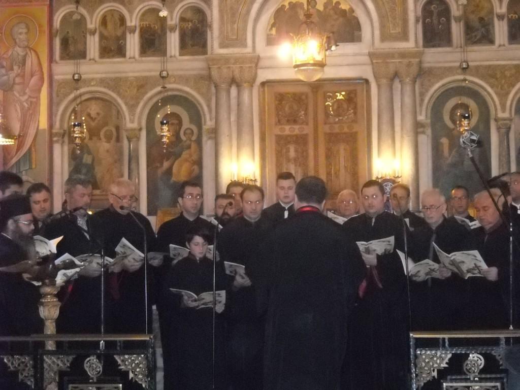 χορωδία συλλόγου ιεροψαλτών Αγρινίου