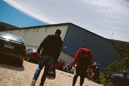 «Αυτή την περίοδο η ομάδα προσπαθεί να βρει πάλι τα πατήματά της. Διεκδικούν την άνοδο από την μικρότερη ερασιτεχνική κατηγορία μπάσκετ της περιοχής». Φωτο: Άκης Κατσούδας/LiFO