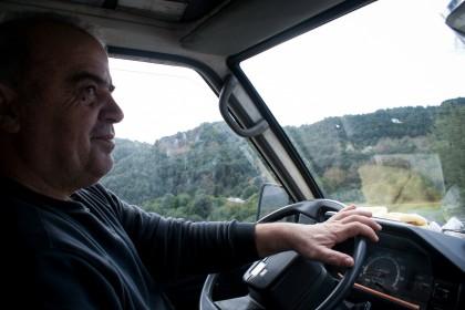 Ο Λάμπρος Γιώτης παλεύει πλέον να βγάλει τα προς το ζην του από αυτή τη δουλειά. Φωτο: Άκης Κατσούδας/LIFO