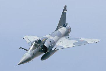 Πτώση μαχητικού αεροσκάφους της Πολεμικής Αεροπορίας στη Σκύρο!