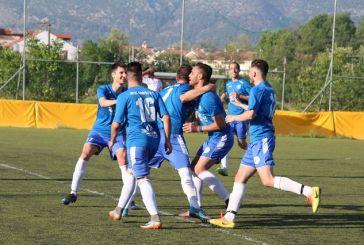 Κύπελλο Ερασιτεχνών Ελλάδος: Πρόκριση στην παράταση για τον Αμφίλοχο, 2-4 τον Θρίαμβο Σερβιανών