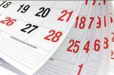 Αργίες 2019: Τα εναπομείναντα τριήμερα του έτους