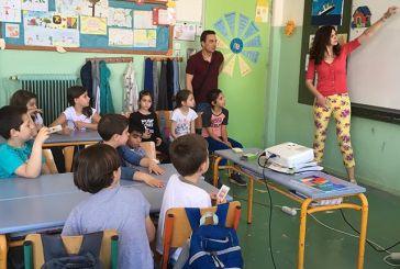 H συγγραφέας Αριάδνη Δάντε στο 17ο Δημοτικό Σχολείο Αγρινίου