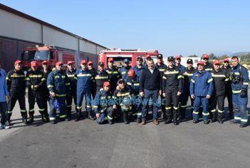 Πυρκαγιά σε εργοστάσιο πλαστικών στη Ναύπακτο η ετήσια άσκηση της Πυροσβεστικής (video)