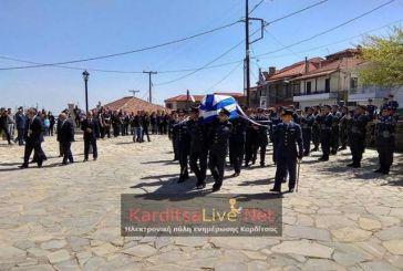 Γιώργος Μπαλταδώρος: Τελευταίο αντίο στον ήρωα Σμηναγό (video)