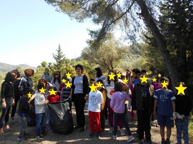 Let's Do It Greece: Δράσεις εθελοντισμού από το 1ο Ειδικό Νηπιαγωγείο και το 1ο Ειδικό Δημοτικό Σχολείο Αγρινίου