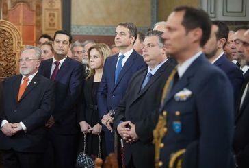 Μητσοτάκης:«Τιμούμε στο Μεσολόγγι μια εμβληματική στιγμή, όχι μόνο της ελληνικής, αλλά και της παγκόσμιας Ιστορίας «
