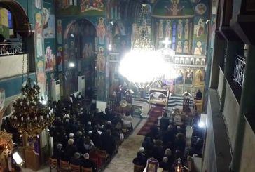 Βίντεο από την Ακολουθία του Επιταφίου του Ι.Ν. Αγίου Νικολάου Στράτου