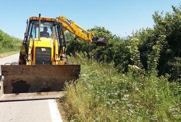 Συντήρηση της αρδευτικής διώρυγας Δ8 στα Καλύβια