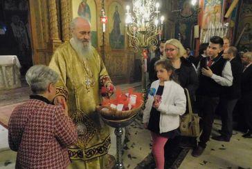 Ο Εσπερινός της Αγάπης στον Ι. Ν. Αγίας Παρασκευής στη Ναύπακτο (video)