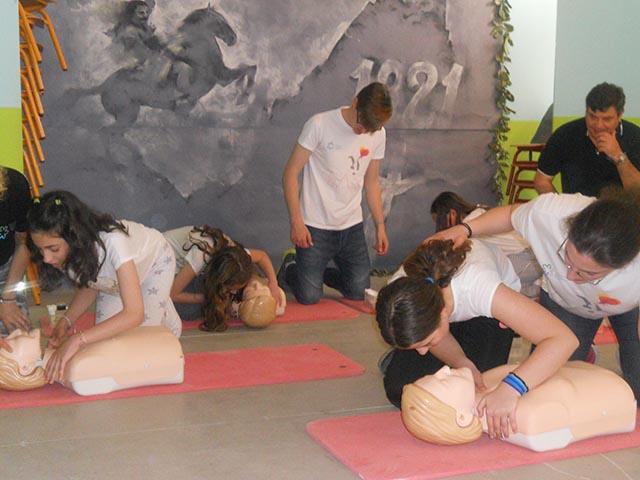 """Kids Save Lives – Τα Παιδιά Σώζουν Ζωές"" στο 17ο Δημοτικό Σχολείο Αγρινίου"