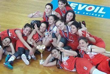 ΕΣΚΑΒΔΕ: Πρωταθλήτρια κορασίδων η ομάδα του Πήγασου Αγρινίου