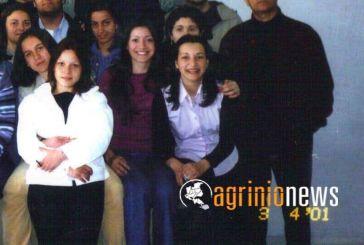 Η ρετρό φωτογραφία της Όλγας Φαρμάκη σε Λύκειο του Αγρινίου