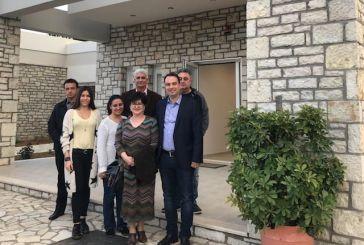 Επίσκεψη του Θ. Παπαθανάση στις νέες στέγες υποστηριζόμενης διαβίωσης της «Αλκυόνης»