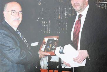 Επίσκεψη του προέδρου του Αρείου Πάγου στα γραφεία του Δικηγορικού Συλλόγου Μεσολογγίου