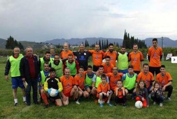 Φιλανθρωπικός ποδοσφαιρικός αγώνας στο Ευηνοχώρι: Ψηλοί – Κοντοί