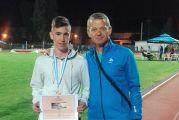 Μετάλλιο στο Πανελλήνιο Σχολικό Πρωτάθλημα Στίβου για μαθητή του 4ου ΓΕΛ Αγρινίου