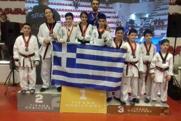 """Διακρίσεις για αθλητές του Τίτορμου Αιτωλοακαρνανίας στο «2nd Tirana Tae Kwon Do Challenge"""""""
