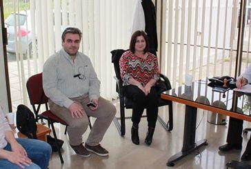 Επίσκεψη της Μαρίας Τριανταφύλλου στην Τοπική Μονάδα Υγείας Μεσολογγίου