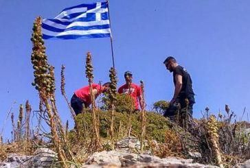 Φόβοι για σκηνικό Ιμίων με τις σημαίες -Το Λιμενικό ελέγχει βραχονησίδες