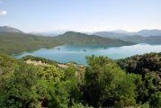 Σημερινή άποψη της Λίμνης Κρεμαστών