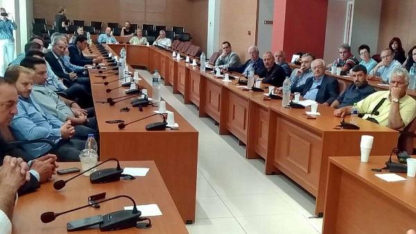 2018.05.18 @ Σύσκεψη στην Περιφέρεια Δυτικής Ελλάδας με τους εκπροσώπους γαλακτοκομικών και τυροκομικών μονάδων