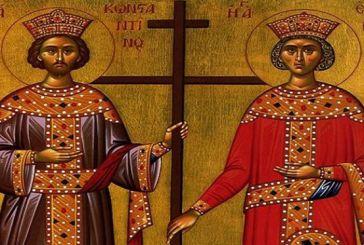Παπαδάτες Μακρυνείας: Το πρόγραμμα εορτασμού των Αγίων Κωνσταντίνου & Ελένης