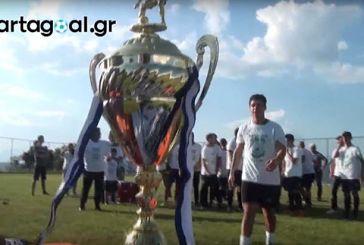 Η απονομή του πρωταθλήματος στον ΑΟ Φλωριάδα (video)