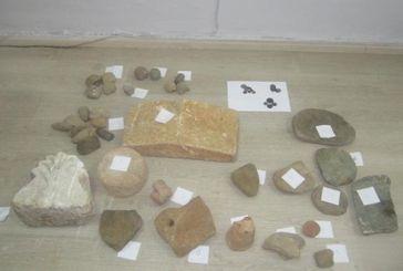 Κορωνησία Άρτας: βρέθηκαν κρυμμένοι σε θάμνους σάκοι με αρχαία