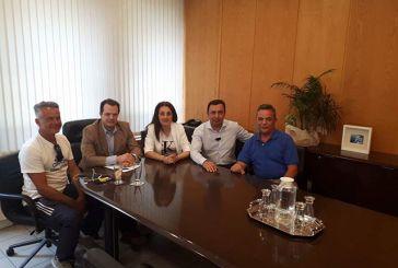 Συνάντηση αντιπροσωπείας του Σύλλογου Κλεπαιτών με τον Γενικό Γραμματέα υποδομών Γιώργο Δέδε