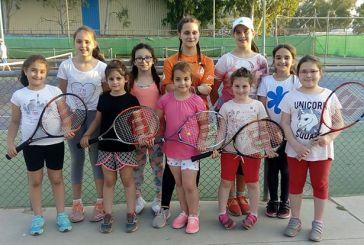 Το Dina's Tennis Club σε τουρνουά τένις στην Πάτρα