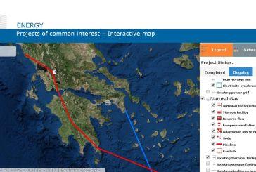 Πως η Commission αποτυπώνει το πέρασμα του αγωγού  East Med στην Αιτωλοακαρνανία