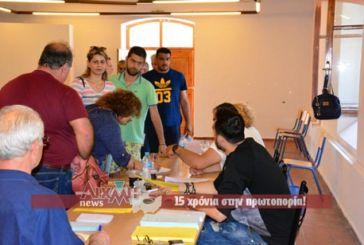 ΝΔ: Μεγάλη συμμετοχή στην κάλπη του Μεσολογγίου