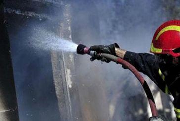 Κάηκε ακατοίκητο σπίτι στο Αιτωλικό