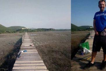 Με εθελοντική πρωτοβουλία Ελβετού επισκευάζεται η Γέφυρα Περατιάς