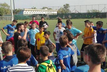 Η πρώτη μέρα του μαθητικού τουρνουά ποδοσφαίρου 5×5 της ΚΝΕ στο Μεσολόγγι