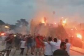 Η υποδοχή των Πρωταθλητών στο Λιμάνι της Ναυπάκτου (βίντεο)