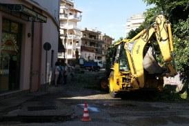 Αγρίνιο: Ξεκίνησαν τα έργα ανάπλασης της οδού Τ. Παναγοπούλου